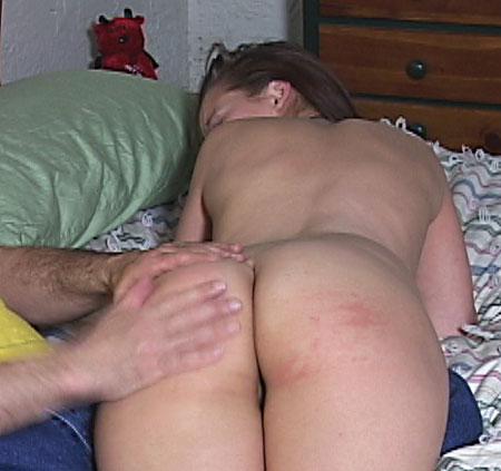 Spanking Hannah's Ass